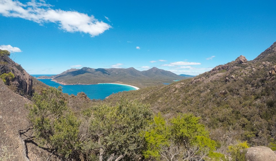 Tasmanie wineglass bay
