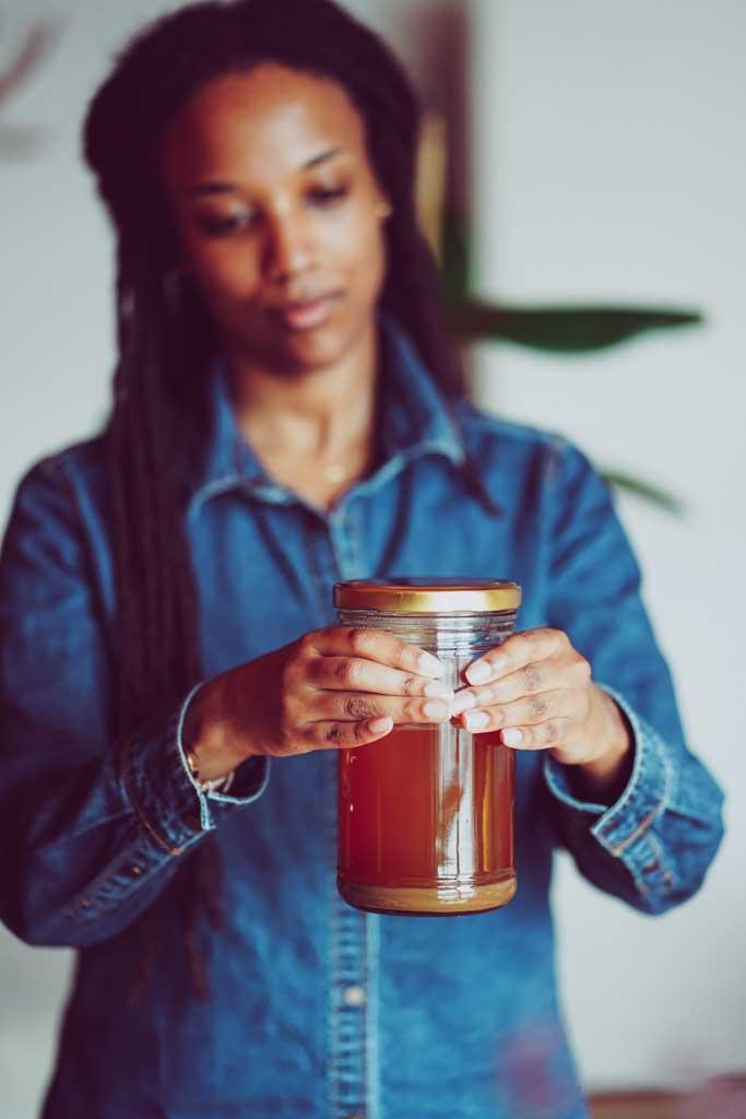Kaffee-für-afro-haare