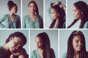 8 Lookideen mit Braids oder Locs