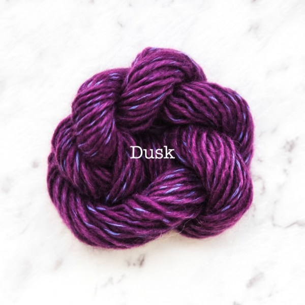 Rosabella TIRAMISU 8 kid merino cotton yarn_DUSK