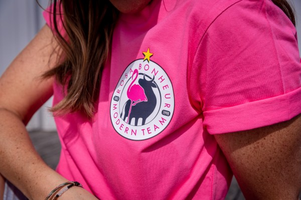 T-shirt Mixte Rose