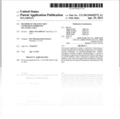 Patent reveals possible Oracea successor