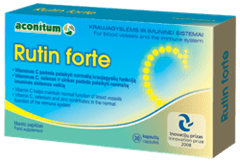 Rutin Forte Supplement reduces redness apparently