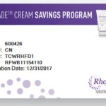 Rhofade Savings Card now available