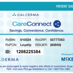 Galderma CareConnect Savings Card