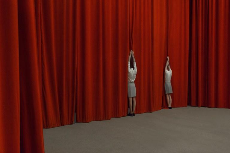 curtain Asymptote by Evelyn Bencicova and Adam Csoka Keller