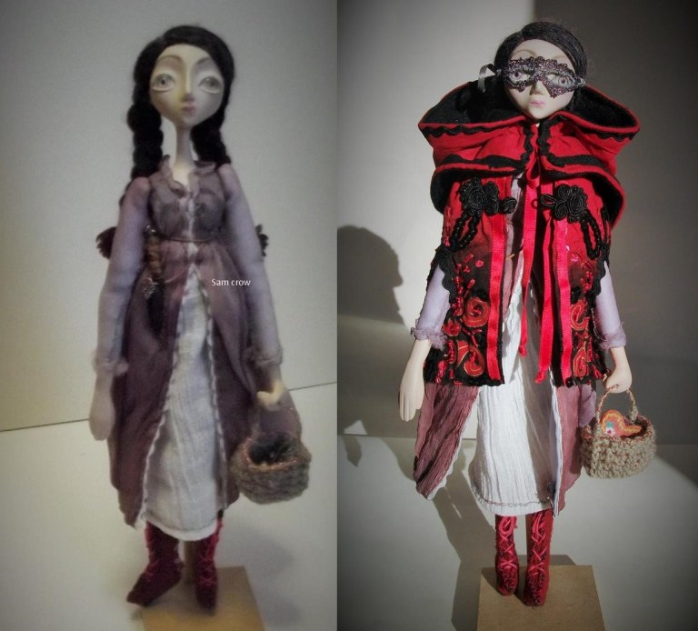 Little Red Riding Hood Sam Crow Doll