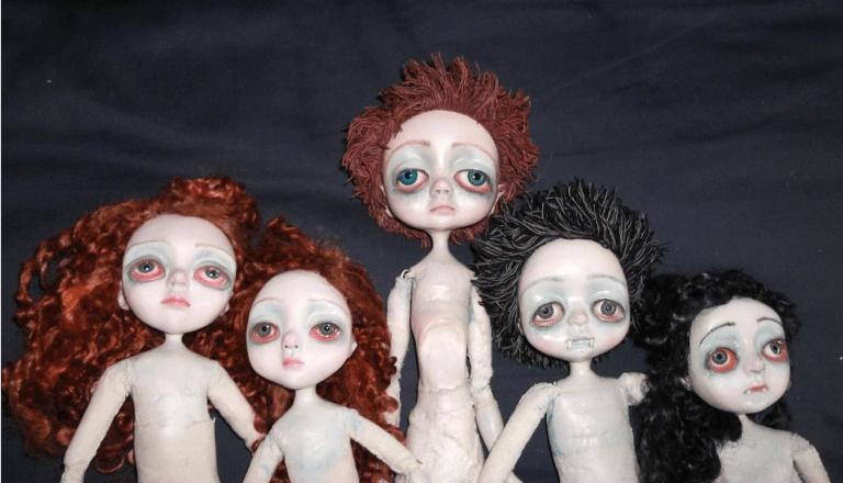 Sam Crow Waiting Dolls