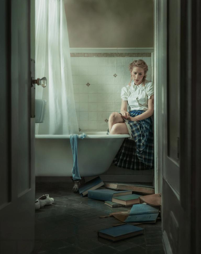 TUB by Photographer Kristina Varaksina