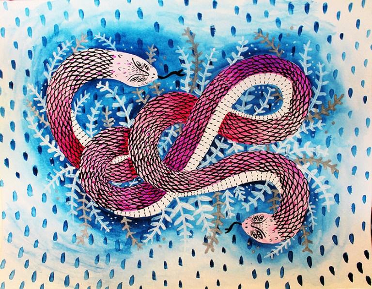 a-mano-sonia-lazo-snake