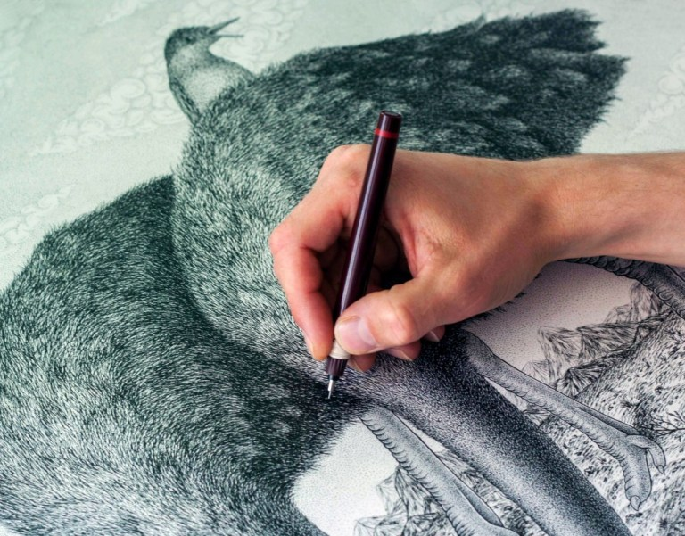 dzmitryi-kashtalyan-detail-of-artist-drawing-interview-with-conscience
