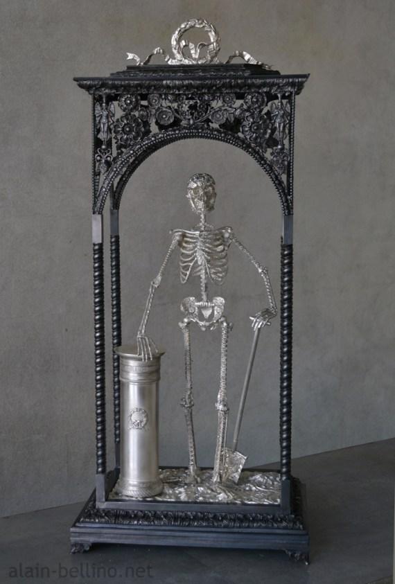 Memento mori-by-alain-bellino-french-sculptor