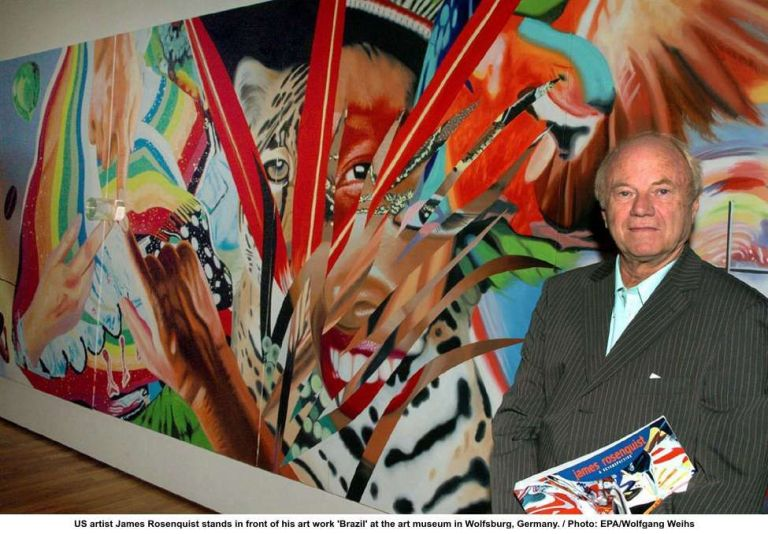 James Rosenquist Pop Artist