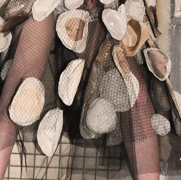 Vlada Manyatovskaya detail of hand embroidered dress