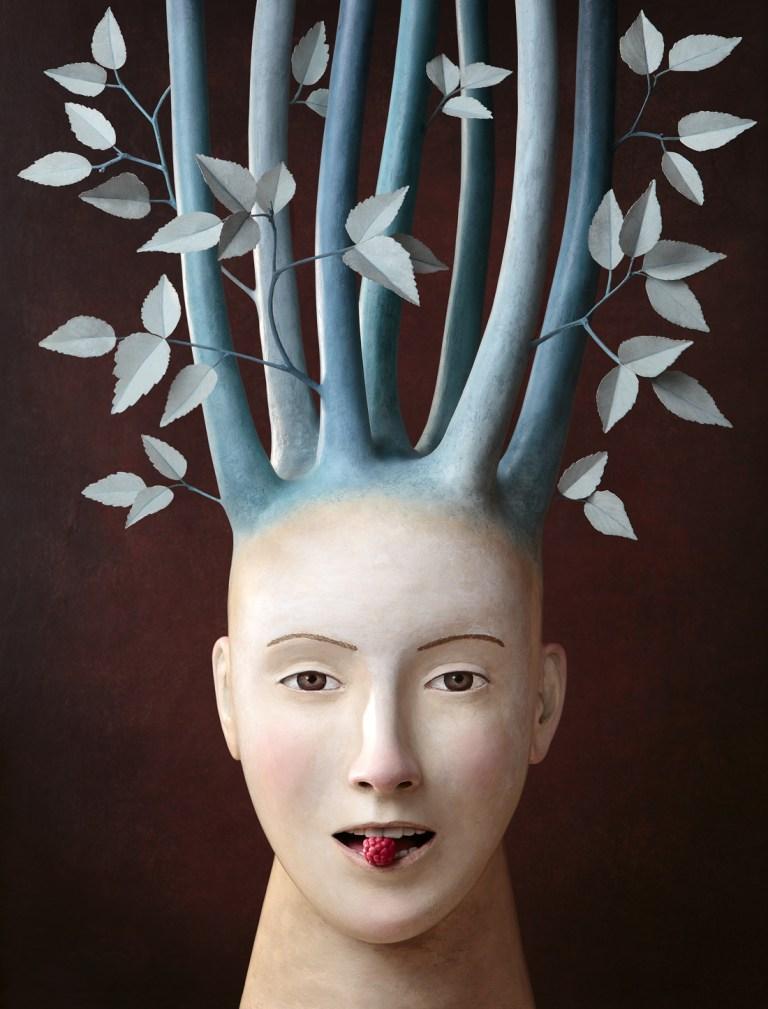 fantasy-art, Irma-Gruenholz, atelier, studio, portrait, sculpture, bust, art, artwork, modern-art, contemporary art