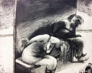 acquatint, etcher, prints, etchings, Goya, MarcelleHanselaar, art, woman-artist, female-artist, etcher, surreal, capriccios