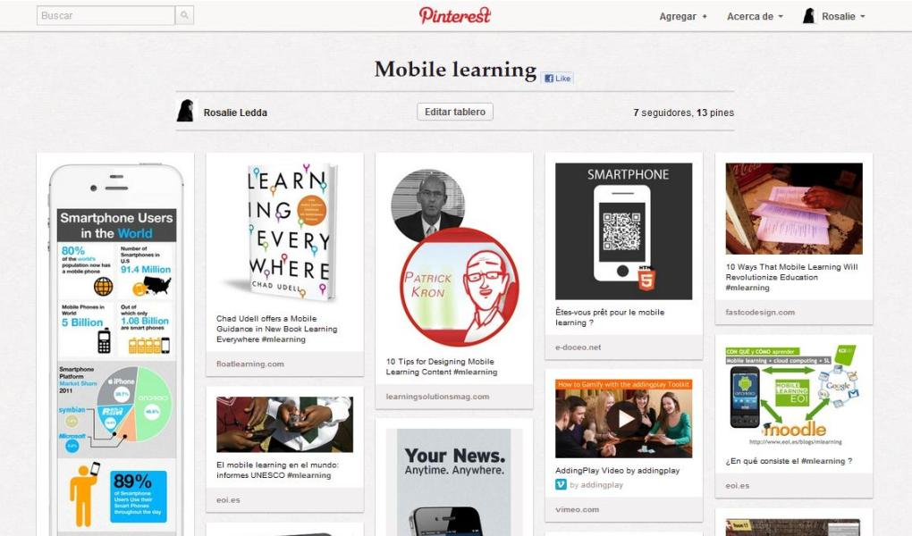 Mobile Learning by Rosalie Ledda