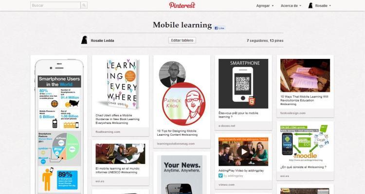 Mobile Learning by Rosalie Ledda