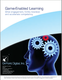 Game-enabled Learning Drive engagement