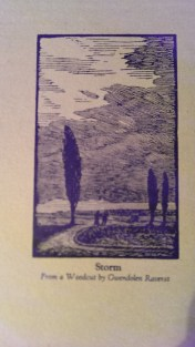 Gwen Raverat - Book inside cover
