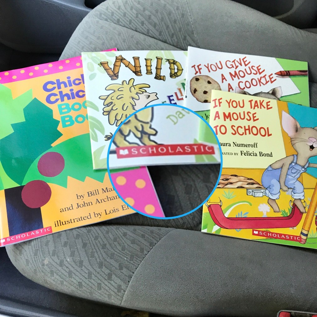 Scholastic Book Haul and Childhood Memories