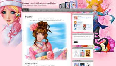 Rosalys ~ author-illustrator & publisher - 2012