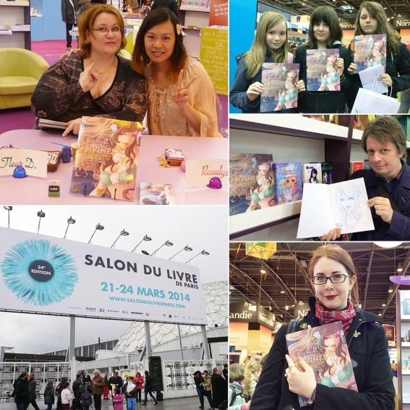 Salon du Livre de Paris (Paris, FRANCE) : 21 Mar 2014