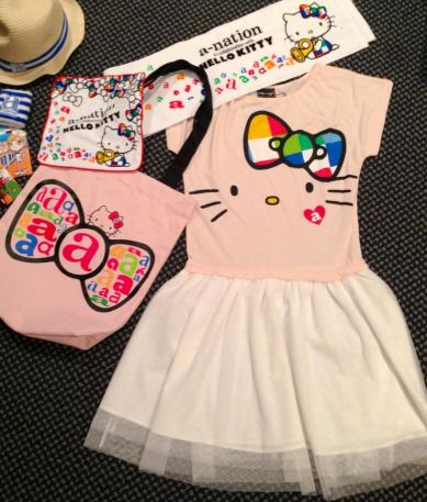 a-nation x Hello Kitty goods: get!!
