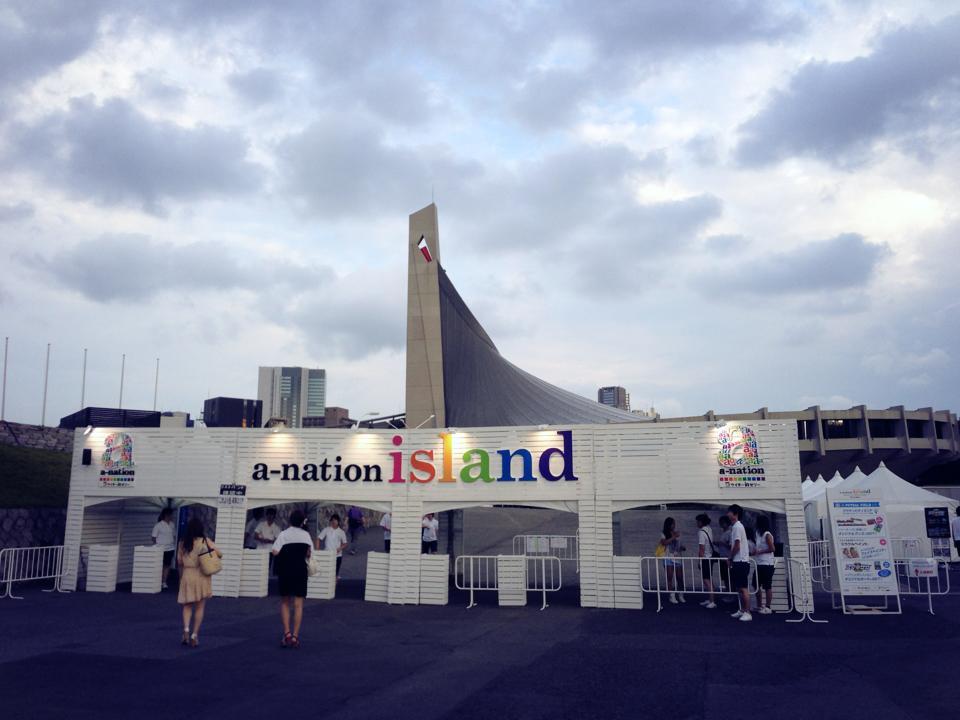 a-nation island ♪