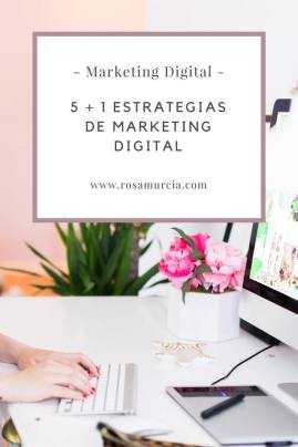 estrategias en marketing digital español