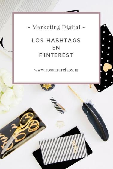 el uso de los hashtags en Pinterest ya está permitido