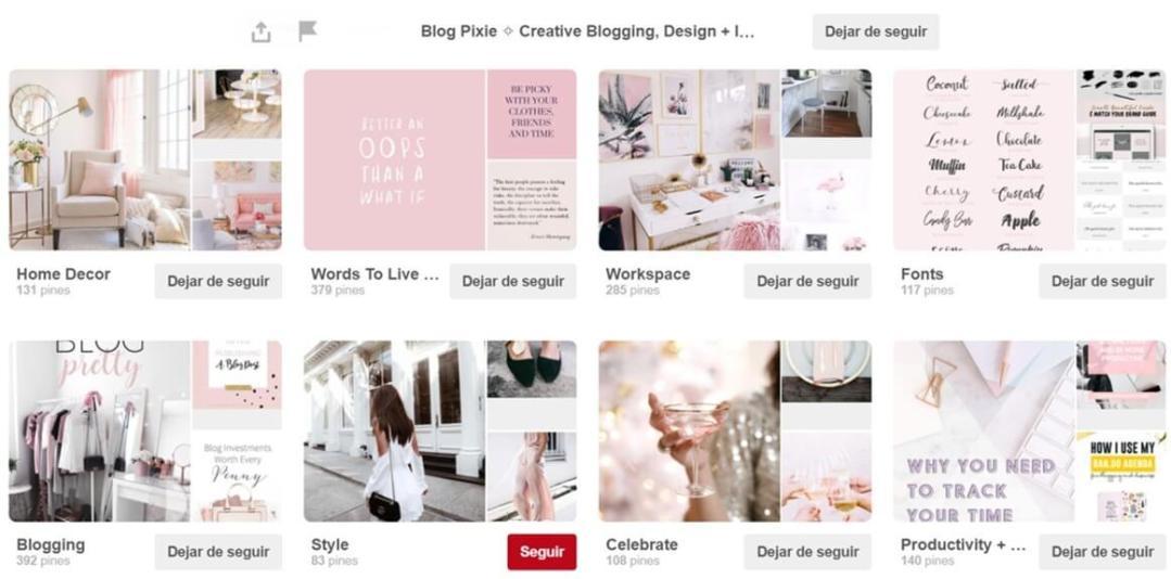 Pinterest y el branding es posible. Pinea el mismo tipo de pins