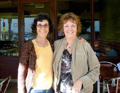 meeting my blogging buddy Debra
