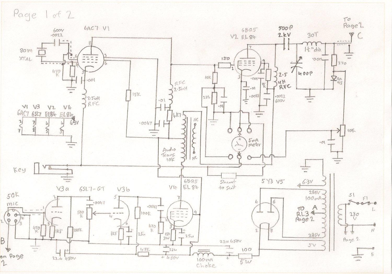 Home Built Am Cw 4 Watt Transmitter