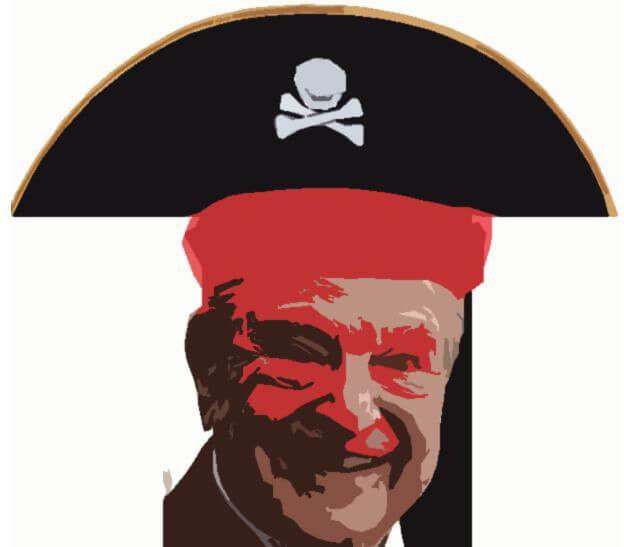 Stop al corsaro Soros
