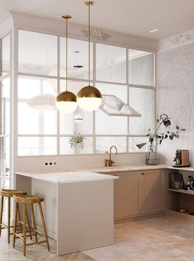 cucina bianca senza