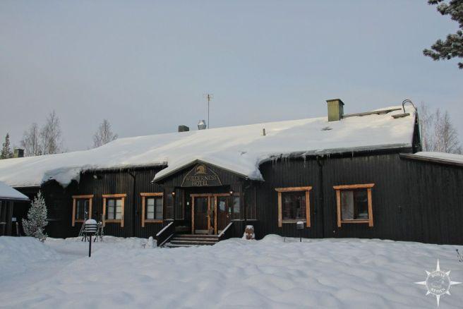 Herzlich willkommen nördlich des Polarkreises!