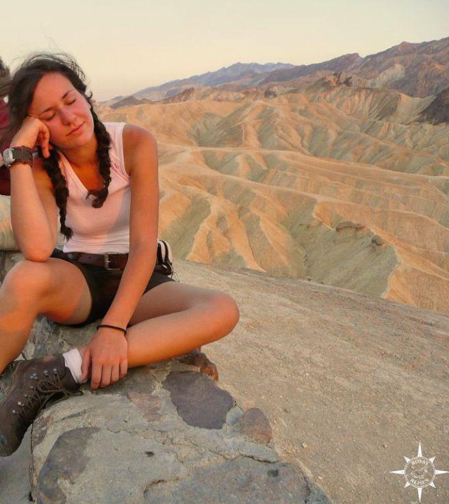 Zabriskie Point, Death Valley, USA