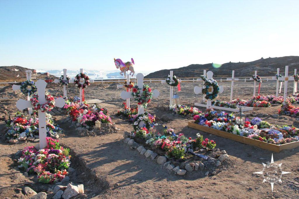 Groenland-Friedhof-Ilulissat-Rosas-Reisen