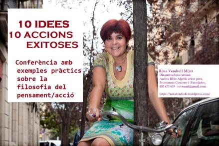 Barcelona 22/08/13 Contra Rosa Vendrell pujada a una bicicleta al carrer del doctor dou cantonada amb pintor fortuny del barri del raval Fotografia Tania Morell