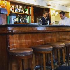 Inside Harry's Bar