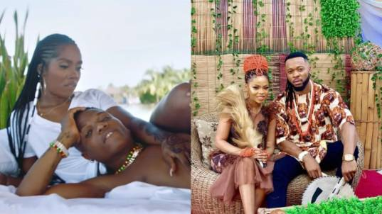 'Wizkid & Tiwa Savage' Vs 'Flavour & Chidinma', which of the duo look better together?