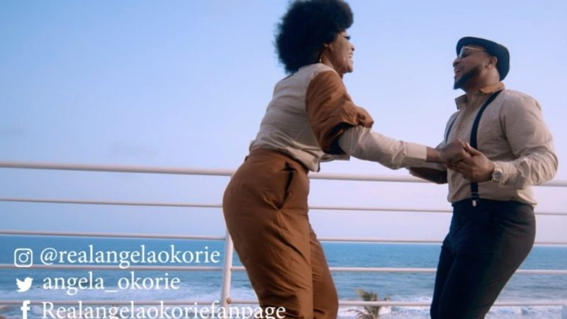 [Music Video] Angela Okorie ft. B-Red – Give Me Love