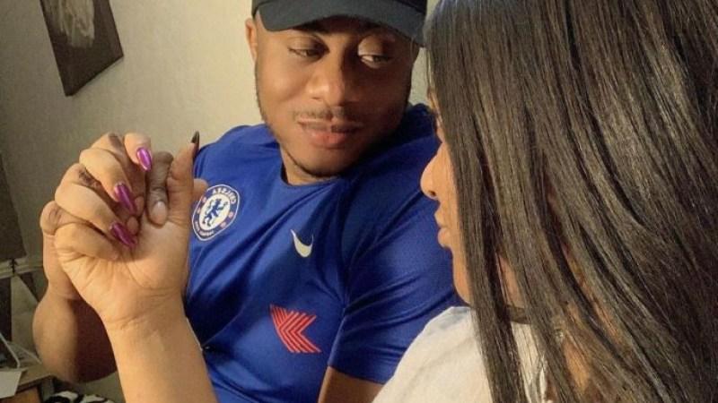 I never met you through social media so social media can never break us- Actress, Nkechi Blessing Sunday's boyfriend writes