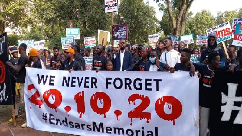 EndSARS: Sowore, Adeyanju and others lead #EndSARS protest in Abuja (photos)