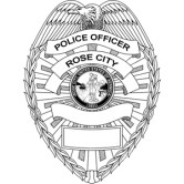Rose City Police Badge