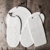Planches, motif Dentelle