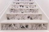 Escaliers fleuris gris // Un Air d'Intérieur Blog déco & DIY unairdinterieur.wordpress.com