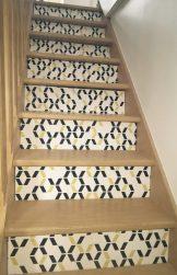 Vue d'ensemble de l'escalier