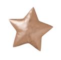 Coussin étoile couleur cuivre